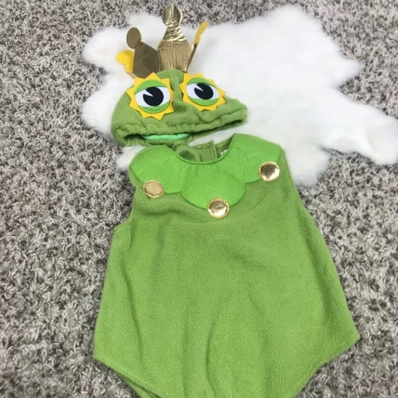 Pottery Barn Kids Boy Prince Frog Costume Sz 6-12M & Pottery Barn Kids Costumes | Boy Prince Frog Costume Sz 612m | Poshmark